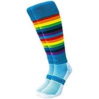 WackySox Doppio arcobaleno Micro cerchiata sport calzini
