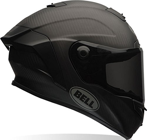 BELL HELMET RACE STAR SOLID BLACK MATT L