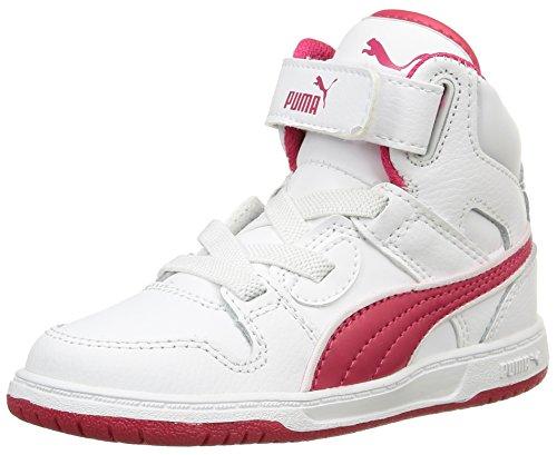 Puma Rebound Street L, Baskets Basses Mixte Enfant