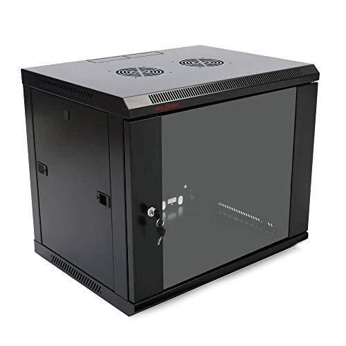 "Preisvergleich Produktbild RackMatic - Serverschrank 19"" Rack 9HE 600x450x500mm wandverteiler SOHORack Rackmatic"