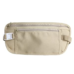 417G sWv5tL. SS300  - Dcolor Travel Money Belt for Security Pouch Passport Cash Money Holiday Traveling