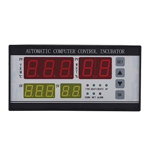 Fdit 1PC multifunktionale automatische Inkubator Thermostat Temperatur Luftfeuchtigkeit Controller