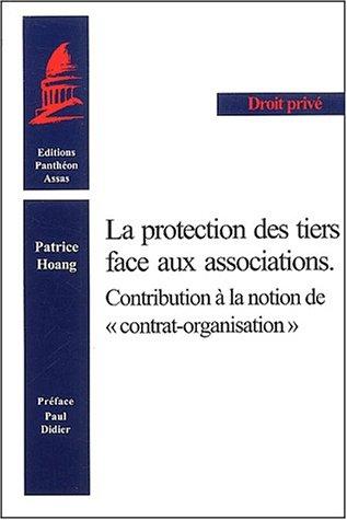 Protection des tiers face aux associations par Patrice Hoang