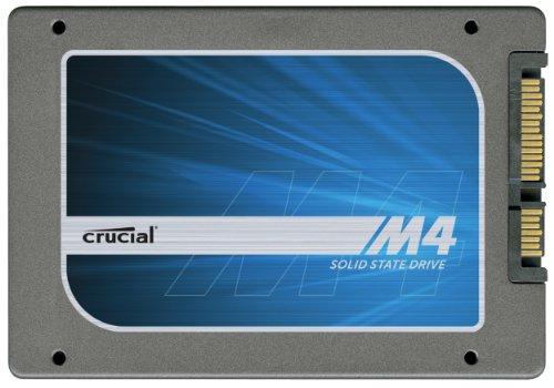 Crucial CT064M4SSD2 64GB interne SSD-Festplatte (6.4cm (2.5 Zoll), SATA)