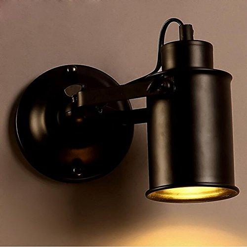 YJNB Retro Vintage Edison Industriale Semplicità La Luce Del Monitor Al Posto Letto Per Montaggio (Lampada Da Parete Finita)