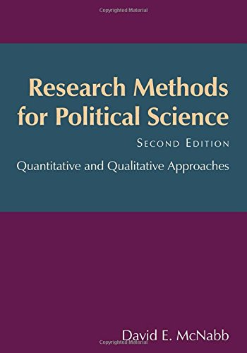 Research Methods for Political Science: Quantitative and Qualitative Methods