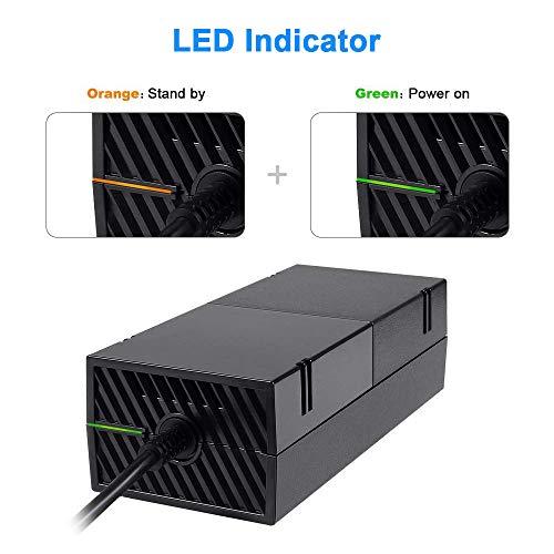 VERSIONE QUIETEST One Power Supply Brick CA... Alimentatore per Xbox One,