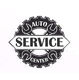 Auto Service Center Logo Window Sticker Vinyl Decal Repair Car Station Sign Garage 67x56cm