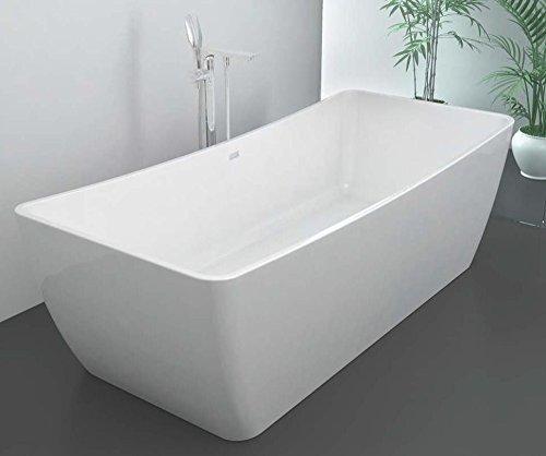 1490 Freistehende Design Badewanne aus Mineralguss Wanne Art. 27042