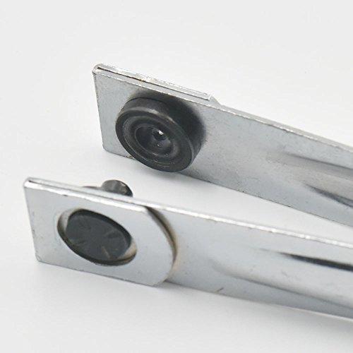 """Grommet Eyelets Ösen-Werkzeug, Zange, 8mm, 10mm für Kleidung, Leder, Segeltuch, mit Rückteil, Nickel, 1 Stück, 3/8""""(10mm)"""