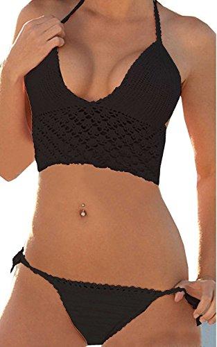 Newsbenessere.com 417G4oazYOL GK-Molla calda lavorata a costume da bagno donna bikini all'uncinetto uncinetto a mano