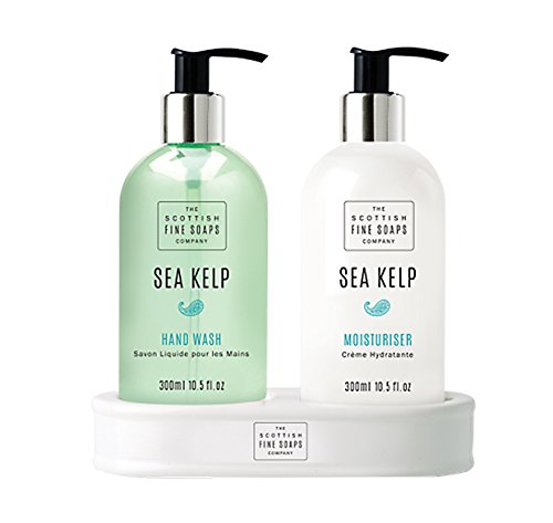 Scottish Fine Soaps Sea Kelp Hand Care Set (Hand Wash and Lotion)