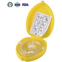 Aurelius Tasche CPR Maske für Erste-Hilfe-Wiederbelebung Gesichtsmaske, Single Use mit CE & ISO genehmigt (Yellow... preisvergleich bei billige-tabletten.eu