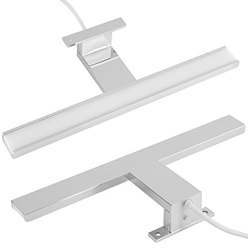 Cocoarm 5W Moderne LED SMD Spiegel Frontleuchte, Spiegelleuchte,Badleuchte, Schrankleuchte Wand Badezimmer Beleuchtung Bar Lampe in chrom, IP44