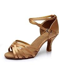 VESI-Chaussures a Talons Hauts de Danse Latine Sandales pour Femme
