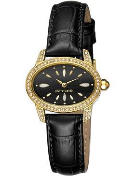Pierre Cardin Damen-Armbanduhr Charme Analog Quarz Leder