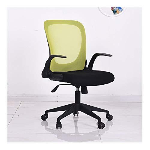 Preisvergleich Produktbild HUINING Bürostuhl,  Schreibtischstuhl Ergonomischer Drehstuhl,  Höhenverstellbarer Chefsessel Mit Lendenstütze Und Atmungsaktives Mesh, Green, Nylon