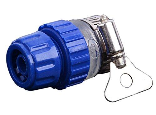 Schlauchverbinder, Fansport Gummischlauchadapter Easy Connect Wasserhahnadapter mit Clamp