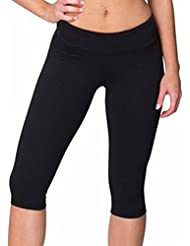 Pantalon longueur genou de conditionnement physique de la femme (RSAAK304)