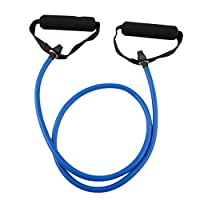 Fitness Resistance Band Rope Tube Elastic Exercise for Yoga Pilates Workout Home Sports Pull Rope Gym Exercise Tool