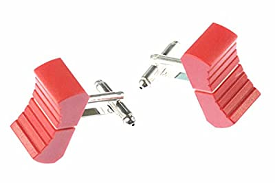 Miniblings Fader Cuff Links Cufflinks Controllers Dj Mixer Mixer Sound Engineer Switch Red