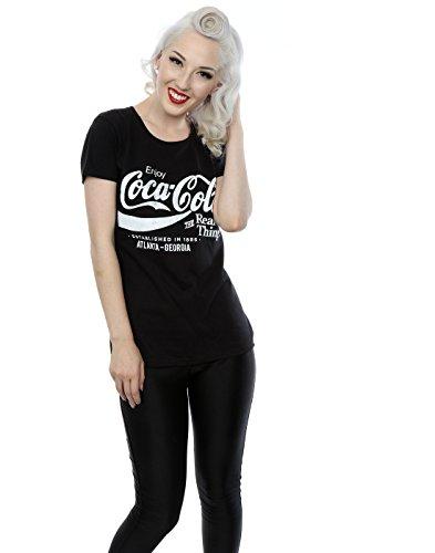 Coca Cola Femme Atlanta Georgia T-Shirt Noir