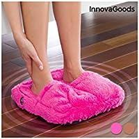 InnovaGoods IG114406 - Masajeador de pies, color rosa