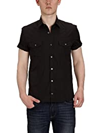 SELECTED HOMME Herren Freizeithemd Slim Fit 16020200 Low shirt ss