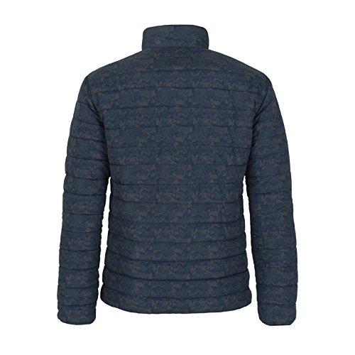 Jeep - Reversible Padded Softshells Homme J6W Blue/Woodland Blue