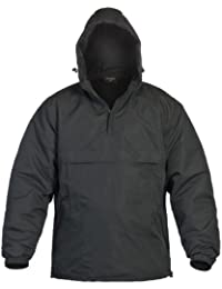 Black Combat Winter Anorak