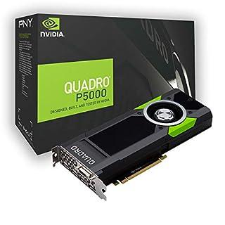 PNY Quadro P5000 Quadro P5000 16GB GDDR5X - Tarjeta gráfica (NVIDIA, Quadro P5000, 7680 x 4320 Pixeles, 16 GB, GDDR5X, 256 bit) (B01LWVP48O) | Amazon price tracker / tracking, Amazon price history charts, Amazon price watches, Amazon price drop alerts