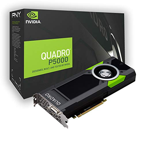 NVIDIA Quadro P5000, 16GB GDDR5X Memory