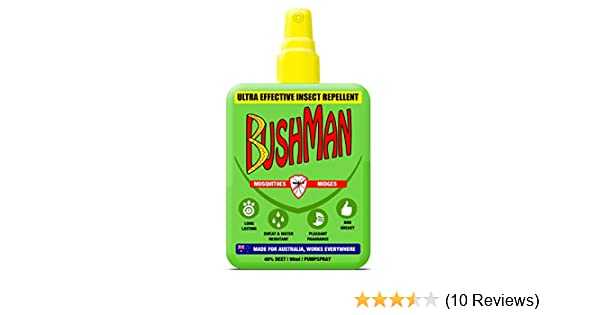 d65a52a7b Bushman B102 Ultra Insect Repellent Pump Spray, Green, 90ml: Amazon.co.uk:  Sports & Outdoors