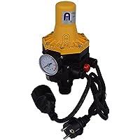 Agora-Tec Pumpen Druckschalter AT-DWv-3 mit Kabel zur Pumpensteuerung für Kreisel-, Tauch- Tiefbrunnenpumpen und Betriebsdruck von 7 bar, AT 003 001 002