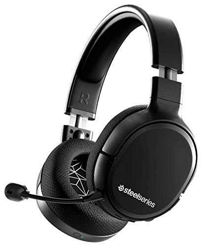 SteelSeries Arctis 1 Wireless - Wireless Gaming Headset - USB-C Abnehmbares - Clearcast Mikrofon - für PC, PS4, Nintendo Switch, Android