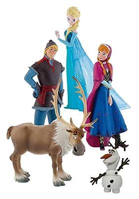 Frozen - Bumper Pack, set con 5 figuras, Bullyland 12220 por Bullyland