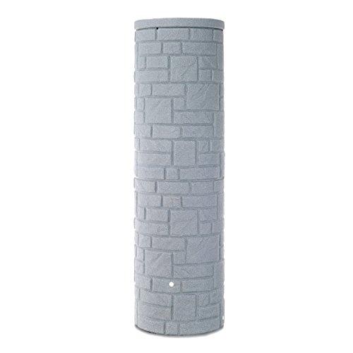 3P-Regenspeicher-Arcado-UV-stabil-witterungsbestndig--Zoll-Messinggewinde-granit-460-L