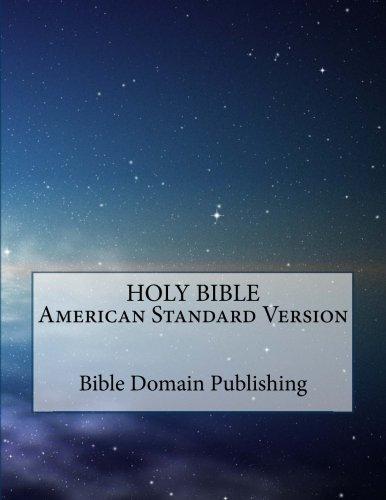 Holy Bible American Standard Version