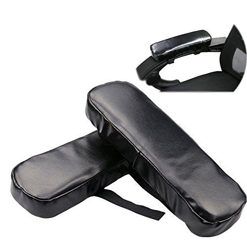 LNPP Memory Foam Armlehne Bürostuhl Arm Computer Pads - Universal Kissenbezüge Für Armlehne Und Ellenbogen Relief (2 Pad Set)