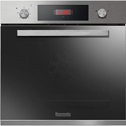Baumatic BOFTU604X A+ Rated Built-In Electric Single Oven - White