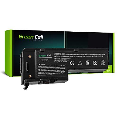 Green Cell® Standard Serie 92P1168 Laptop Akku für Lenovo IBM ThinkPad X60 X60s X61 X61s (4 Zellen 2200mAh 14.4V Schwarz) -