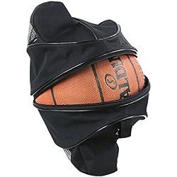 Xrten Bolsa de Pelota Impermeable para Baloncesto, Fútbol, Voleibol ect,Negro
