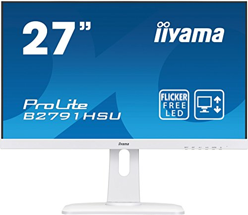 Iiyama ProLite B2791HSU 27 inch LED 1ms Monitor - Full HD 1080p, 1ms Response, Built In Speakers, HDMI