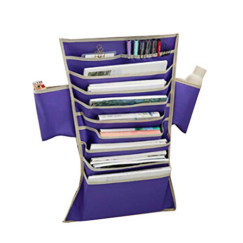 Multifunktionale Desk Side Hanging Bag Oxford Stoff Papier Sorter File Organizer Bleistift...
