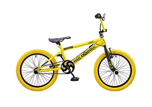 '18Wheels Big Daddy Hahn Freestyle BMX Bicycle Bike Yellow RS118(Yellow)