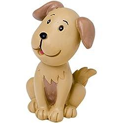 Mascota perro para la tarta