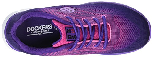 Dockers by Gerli 38vc602-700, Sneakers basses mixte enfant Violet (Fuchsia 780)