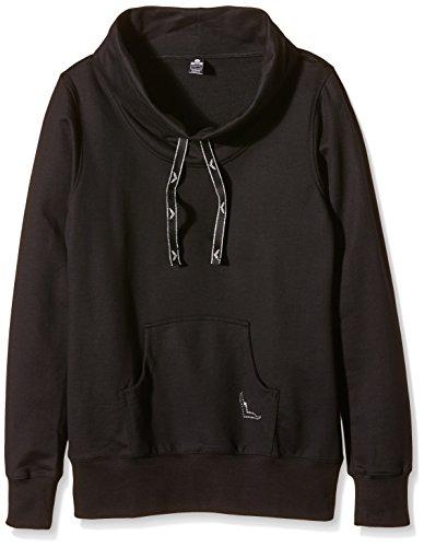 Trigema Damen Sweatshirt Schwarz (Schwarz 008)