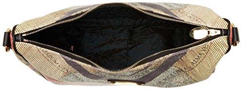 Gattinoni Gacpu0000107, Borsa a Tracolla Donna, 13 x 30 x 32 cm (W x H x L) Multicolore (Classico)