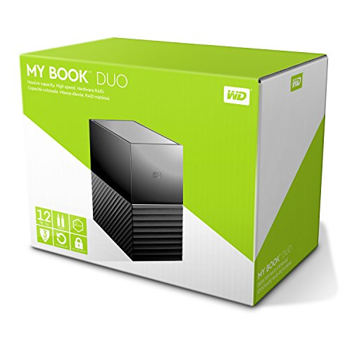 WD My Book Duo - 12TB,WDBFBE0120JBK-EESN